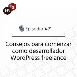 Podcast Freelandev -#71: consejos para comenzar como desarrollador WP