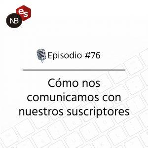 Podcast Freelandev -#76: como nos comunicamos con nuestros suscriptores
