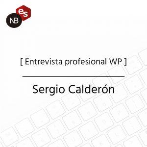 Entrevista profesional WP - Sergio Calderón