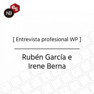 Entrevista profesional WP - Ruben García e Irene Berna